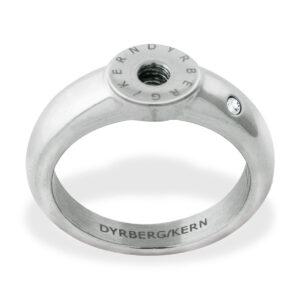 DyrbergKern Compliments Βάση Κλειστή Nickel Free Ασημί